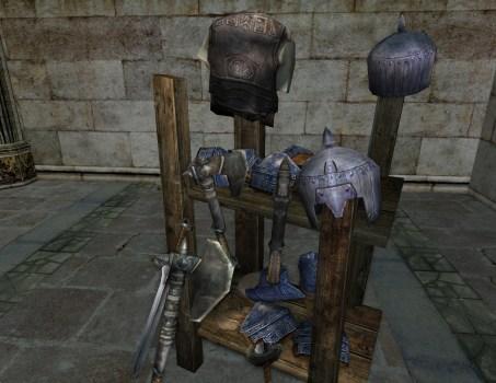 Dwarf-made Weapon Shelf
