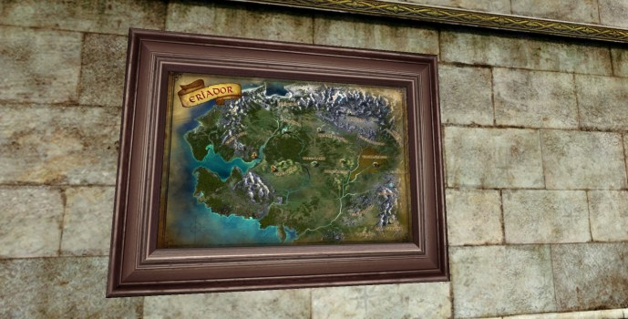 Large Map of Eriador (2nd Edition)
