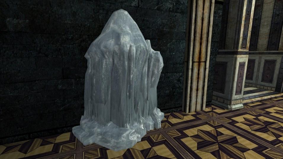 large frozen ice flow 6