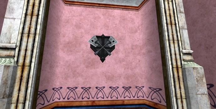 Wall-Mounted Axe