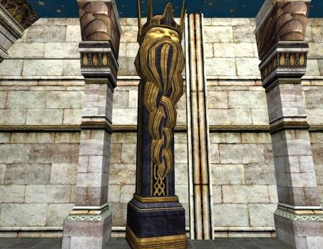 Free-Standing Moria Crown Column