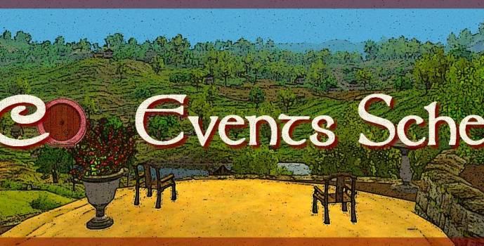 Decorators' Events Schedule