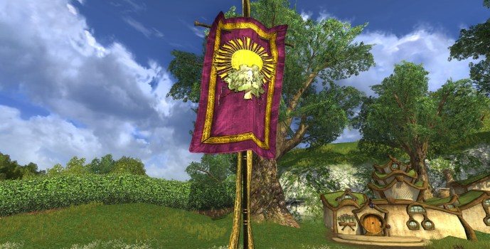 Purple Summer Party Banner