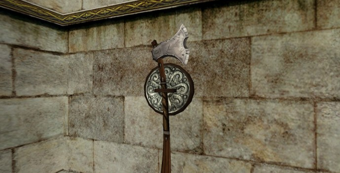 Wall-Mounted Great-Axe of the Vales