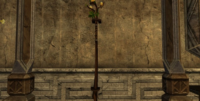 Wall-Mounted Staff of the Vales