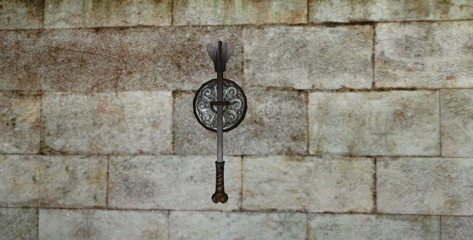 Wall-Mounted Mace of the Vales