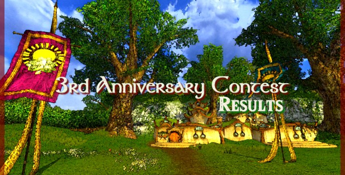 3rd Anniversary Contest : Results