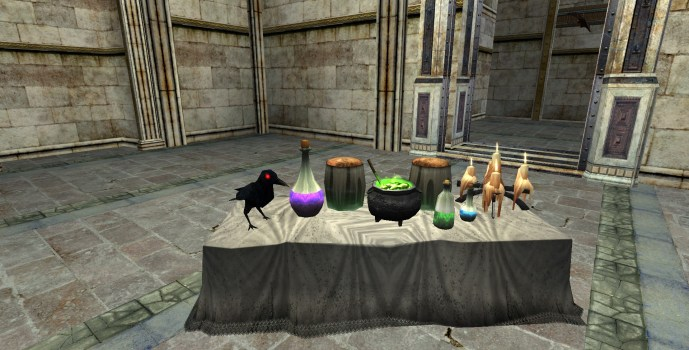 Potions Table
