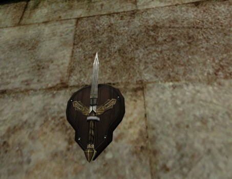 Wall-Mounted Dagger of Minas Ithil