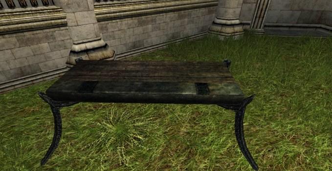 Minas Morgul Table – Long