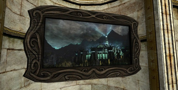 Minas Morgul Painting