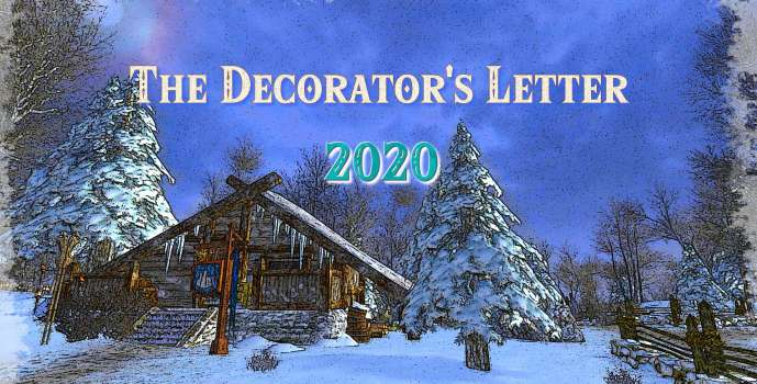 The Decorator's Letter – 2020