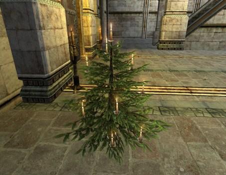 Celebratory Winter Tree