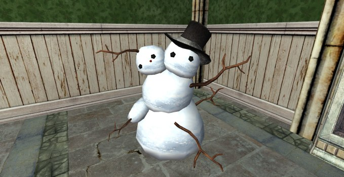 Stately Malformed Snowman