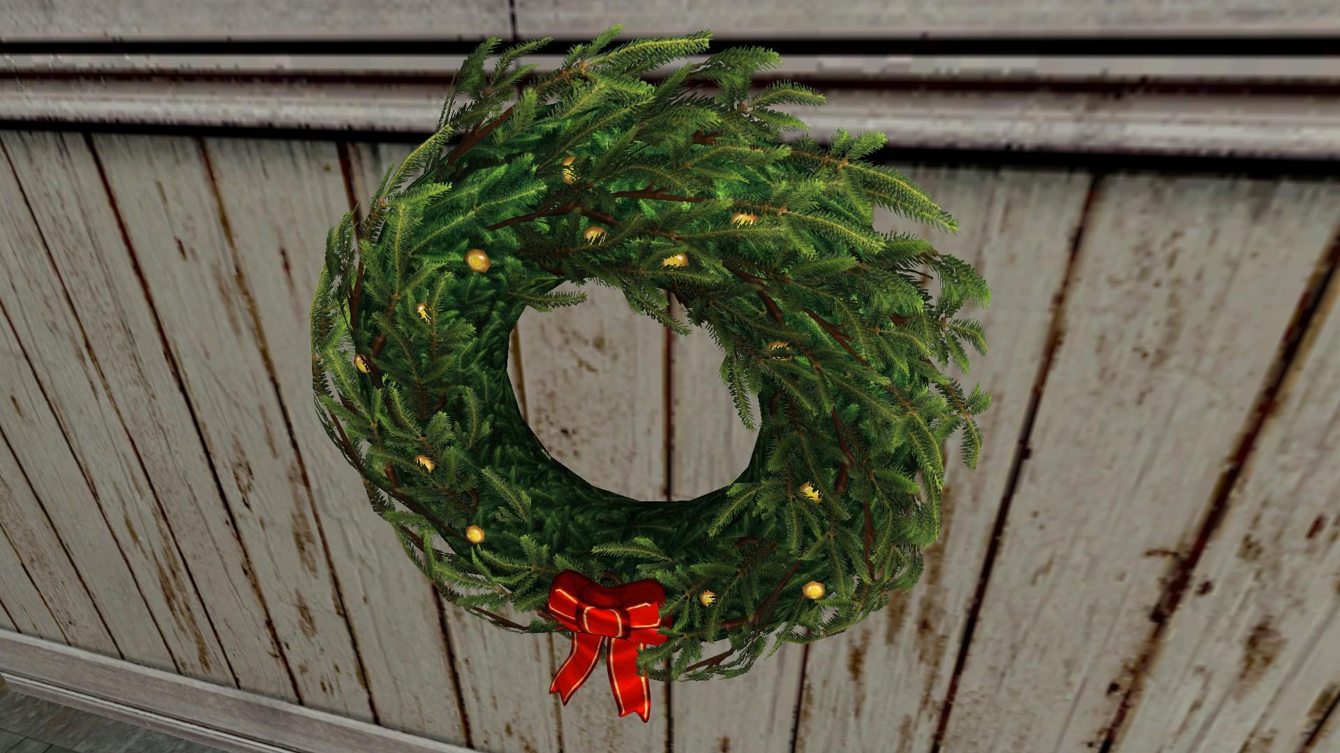 Large Yule Wreath