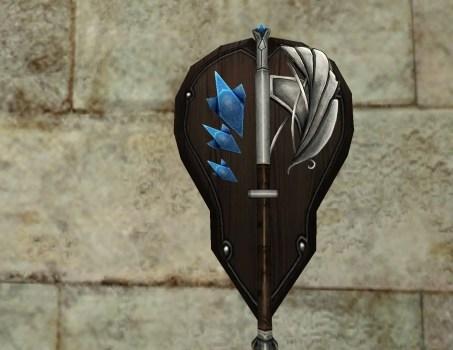 Wall-Mounted Axe of the Remmorchant