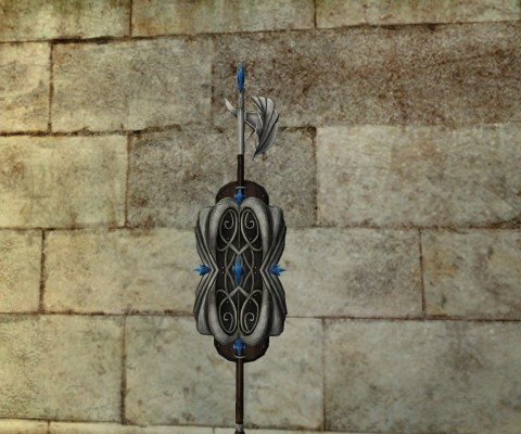 Wall-Mounted Guardian Shield of the Remmorchant