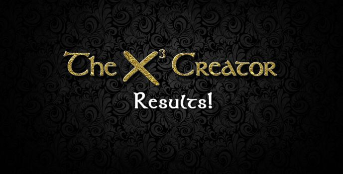 Results : X³-Creator Contest