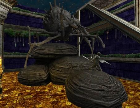 Shelob Statue