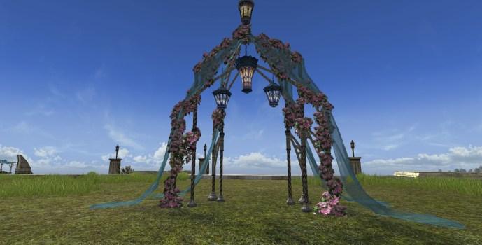 Midsummer Garden Arch