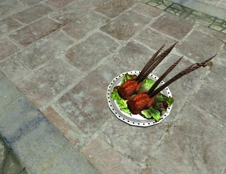 Platter of Roast Pheasant