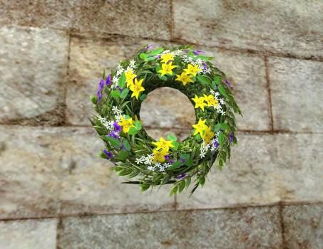 Joyous Wedding Wreath