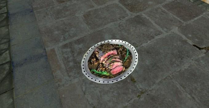 Platter of Sliced Roast