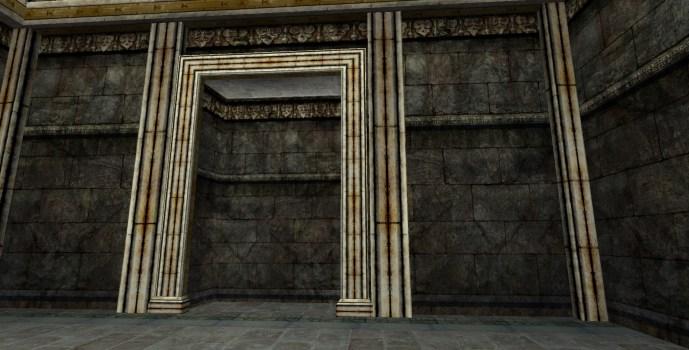 Ornate Stone Wall