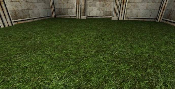 Dark Grass Floor