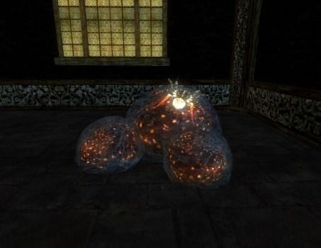 Sanguine Egg Sac Cluster (2)