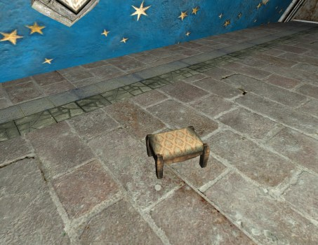 Gammer's Best Small Footstool
