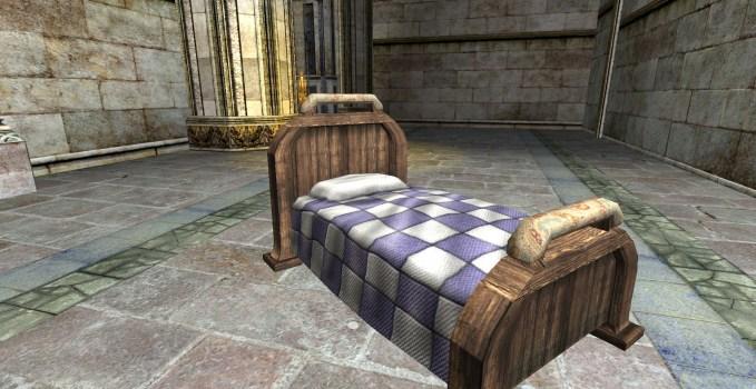 Gammer's Cozy Hobbit Bed