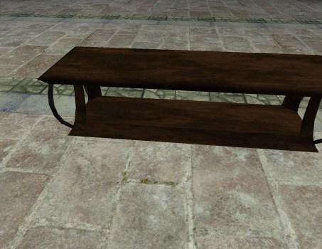 Elegant Wooden Bench