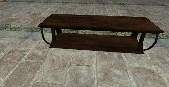 Elegant Wooden Bench