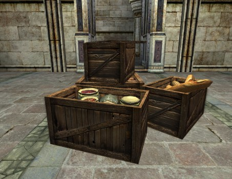 Crates of Food