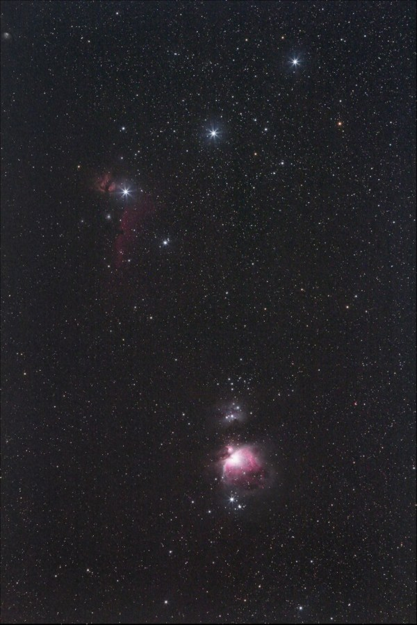 Orion Nebula is a place where new stars are being born ...