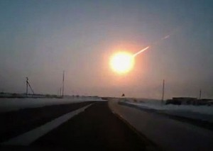 Meteor seen over Russia February 15, 2013