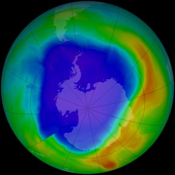 Ozone hole 2013 on EarthSky | Earth | EarthSky