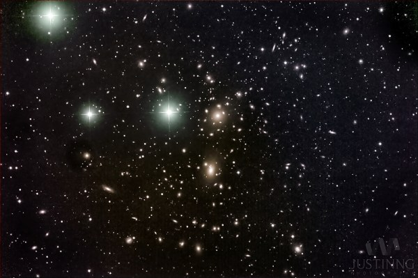 The Coma Cluster of galaxies Clusters Nebulae Galaxies