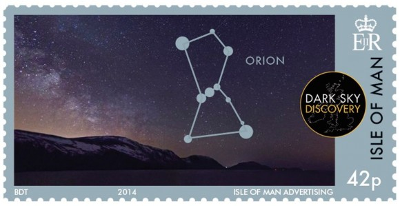 New astronomy stamps from the Isle of Man | Human World ...