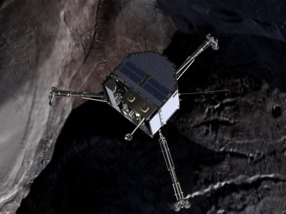 Rosetta mission places Philae lander on its comet