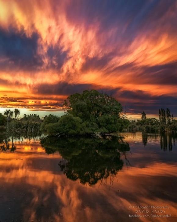 New Zealand Sunst