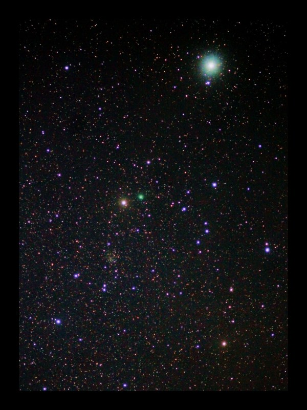 Comet Lovejoy near star Polaris | Today's Image | EarthSky