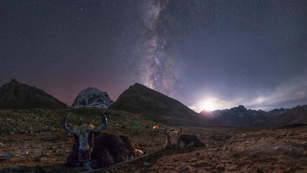 Night skies over Tibet | Today's Image | EarthSky
