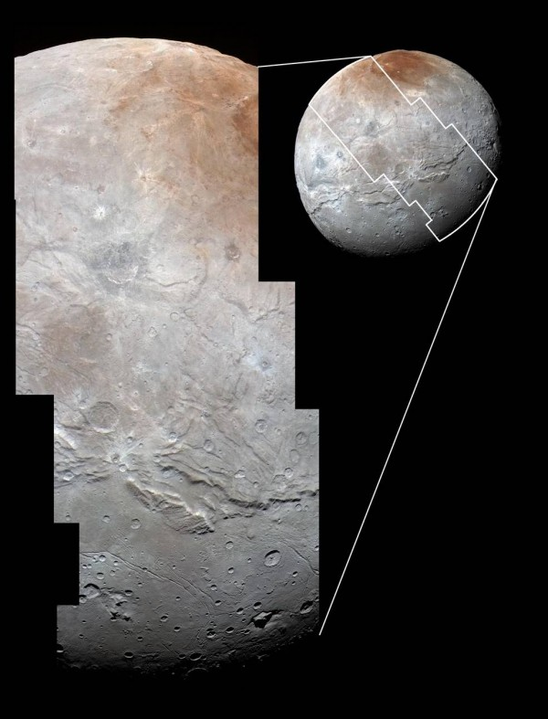 Best yet images of Plutos moon Charon Science Wire