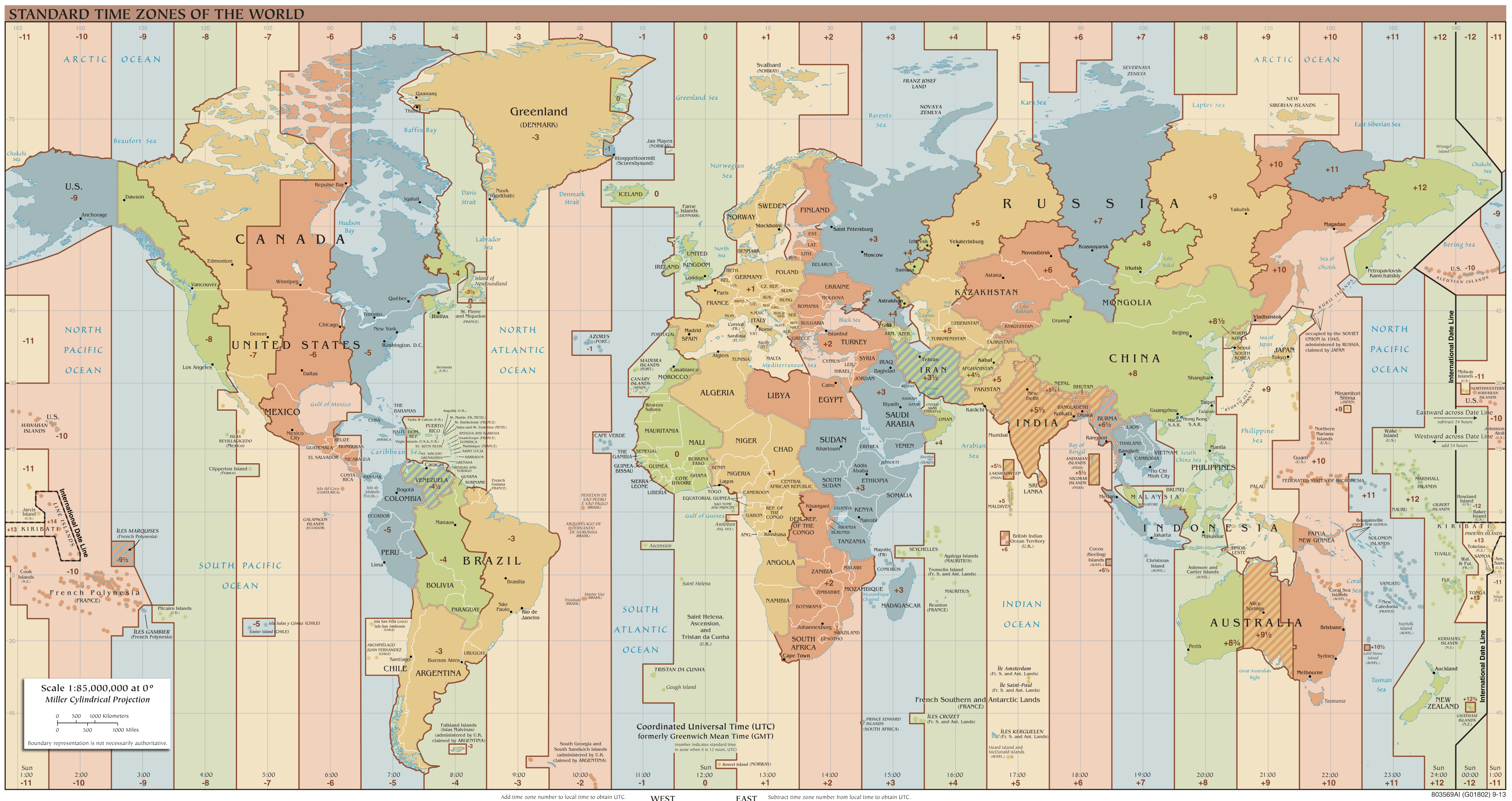 Simplified Calendar And No Time Zones