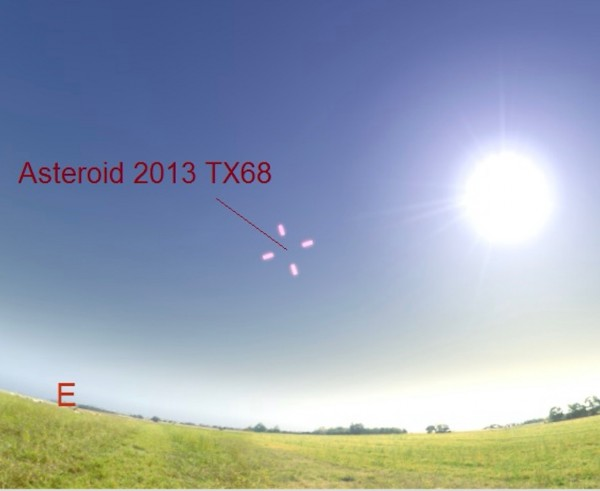 Uncertainties still for asteroid 2013 TX68 SciTech