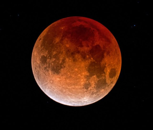 The Total Lunar Eclipse Of January 20 21
