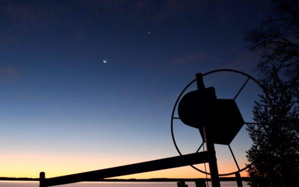See it Moon and Venus close Todays Image EarthSky