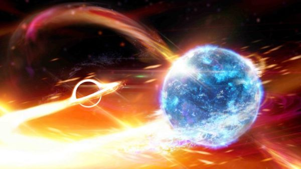 Scientists detect a black hole swallowing a neutron star ...